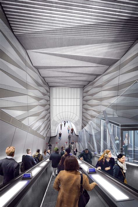 New images unveiled of Elizabeth line stations set to open in 2018 - Crossrail