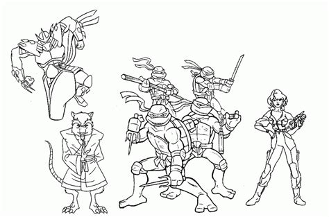 Ninja Coloring Pages - Coloring Home