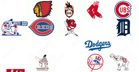 Awesome GIF shows evolution of every MLB team's logo throughout league history | FOX Sports