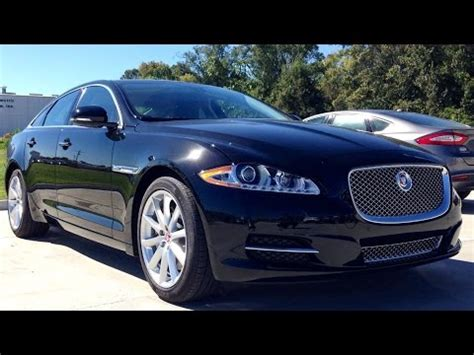 2015 Jaguar XJ Supercharged Full Review, Start Up, Exhaust - YouTube