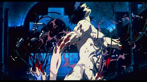 Ghost In The Shell (1995) - Major vs Tank 60fps FI - sub ESP & ENG - YouTube
