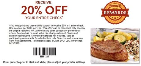 Denny's Coupons Valid Through 2019 | Free Printable Coupons for 2019
